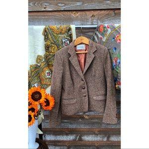 Vintage Tweed Levi Strauss & Co Blazer
